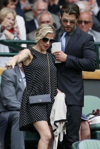 Elsa Pataky Wimbledon Championships 07-06-2014