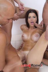 [LegalPorno] [Gonzo] Charlyse Bella horny slut with big boobs banged in ass (8 it all, cum eating, airtight DP) SZ595