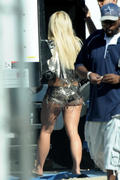 Britney Spears-booty pics while shooting Work Bitch video