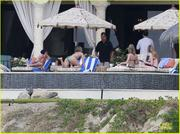 Jennifer Aniston & Emily Blunt - wearing bikinis in Mexico 12/29/12