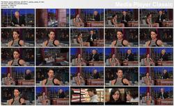 Aubrey Plaza @ Late Show w/David Letterman 2012-07-17